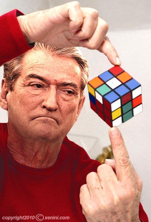 Ma let e zgjidh kubin e Rubikut, se kutine e Rames.